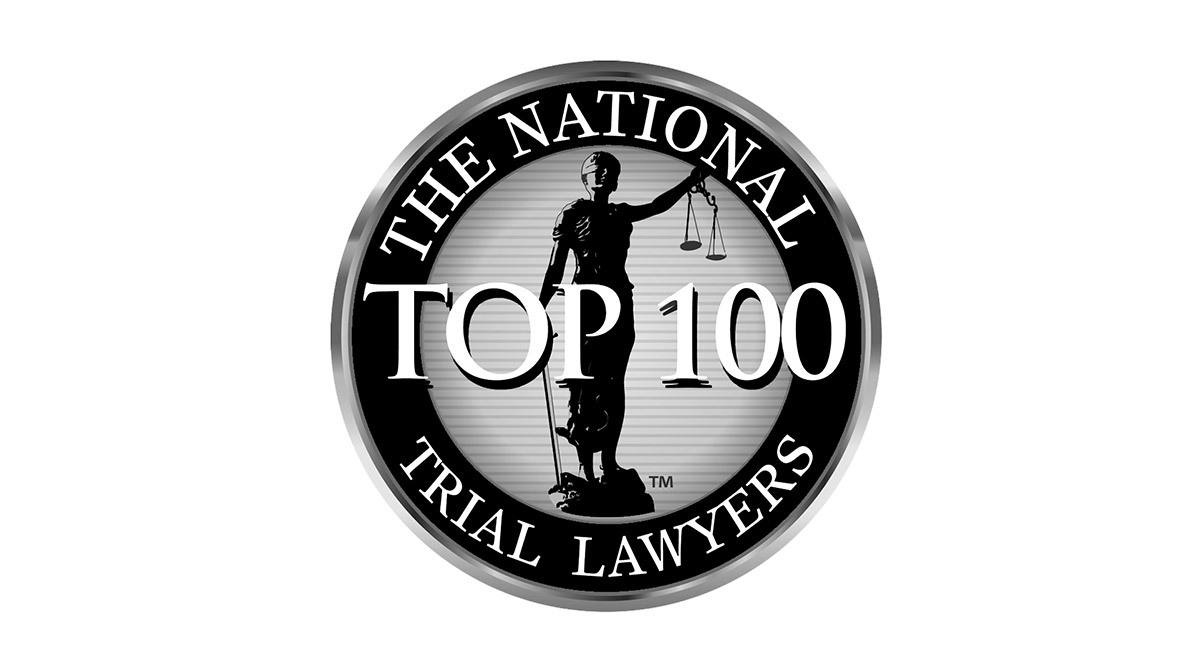 National Trial Lawyers top 100 Attorneys Logo