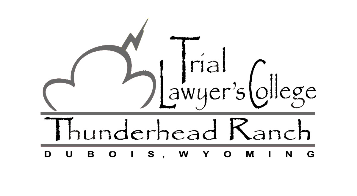 Trial Lawyer's College Thunderhead Ranch Logo