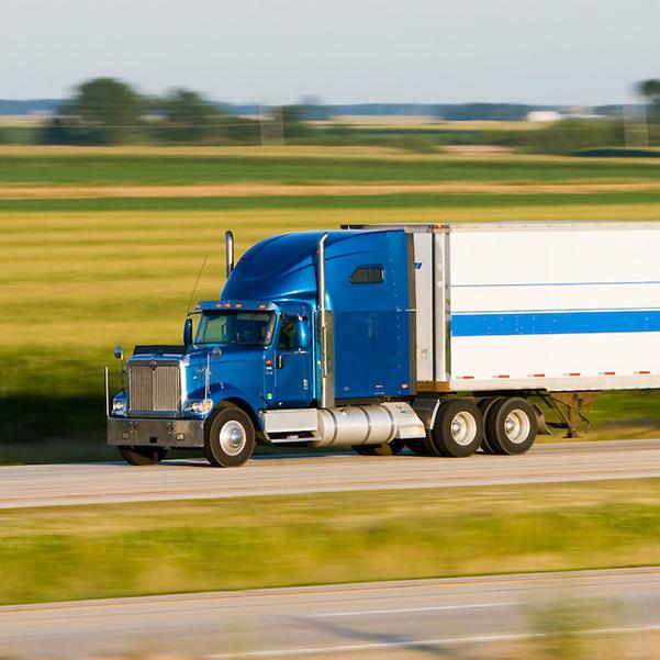 Speeding-semi-truck